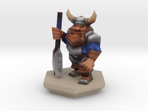 TableTop Dwarf Colored in Full Color Sandstone