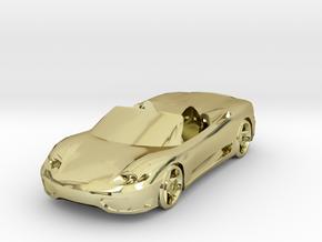 FERRARI MODENA SPIDER  in 18K Gold Plated