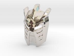 Avohkii in Rhodium Plated Brass