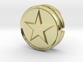 CM-BASICCHAMSTAR1.25 in 18K Gold Plated