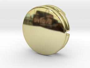 CM-BASICDOME1.25 in 18K Gold Plated