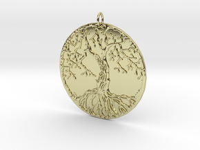 olive three in 18K Gold Plated