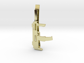 MP7 MONEY/TIE CLIP in 18K Gold Plated