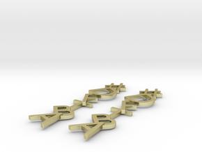 #Hashtag-Earrings - DFTBA in 18K Gold Plated