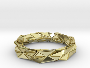 Facette (S) in 18K Gold Plated