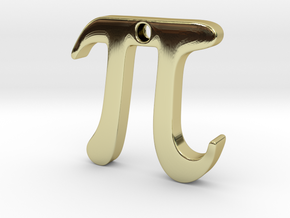 Pi in 18K Gold Plated