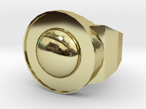Earth in 18K Gold Plated