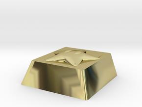 Cherry MX Starman Keycap in 18K Gold Plated
