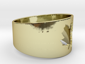 SugarMaple - Size 2 in 18K Gold Plated