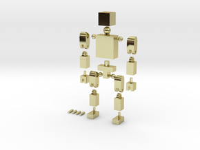 BlockGuy in 18K Gold Plated
