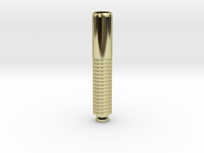 Long Drip Tip in 18K Gold Plated