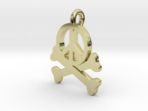 Homicidal Pacifist in 18K Gold Plated