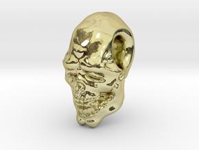 FridayThe13thPainted Joker Skull in 18K Gold Plated