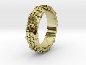Superswamper Female in 18k Gold Plated Brass: 4 / 46.5