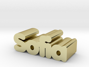 Sofia in 18K Gold Plated