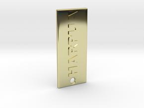 HARPUAROSES in 18K Gold Plated