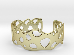 Cellular Bracelet Size M in 18K Gold Plated