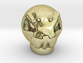 Sculptris Ood head  from Dr Who in 18K Gold Plated