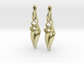 Trust Earings in 18K Gold Plated
