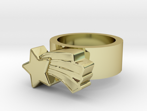 123d Design Ring in 18K Gold Plated