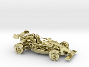 Ariel Atom 1/43 scale RHD w/wings in 18K Gold Plated