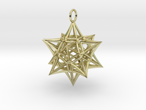 Christmas Bauble 4 in 18K Gold Plated
