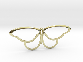 flutterfly in 18K Gold Plated