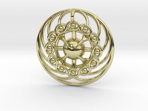 Nexus Eye Mandala in 18K Gold Plated
