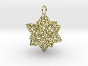 Christmas Bauble 2 in 18K Gold Plated