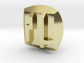 Bionicle - Nuva Symbol - Stone in 18K Gold Plated