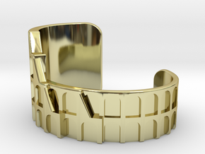 Colosseum Bracelet Size Medium (Metal Version) in 18K Gold Plated