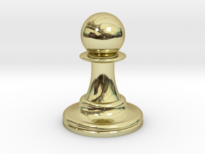 Pawn in 18K Gold Plated