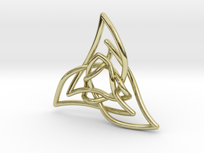 Triquetra 3 in 18K Gold Plated