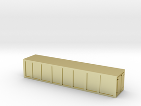 Container 1/220 Z scale in 18K Gold Plated