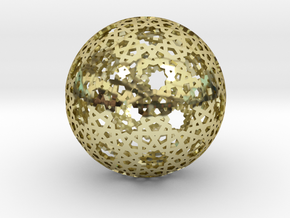 Star Weave Mesh Sphere in 18K Gold Plated