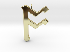 Rune Pendant - Ōs in 18K Gold Plated