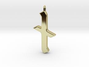 Rune Pendant - Nȳd in 18K Gold Plated