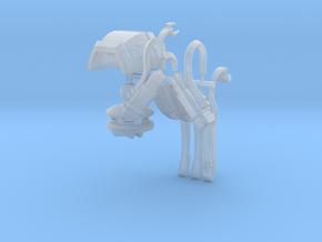 Extraterrestrial Tripod War Machine in Smooth Fine Detail Plastic