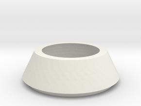 SX350 Simple Bezel V2 in White Natural Versatile Plastic