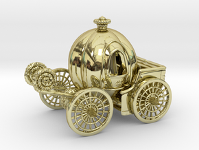 Pumpkin carriage LV2 in 18K Gold Plated