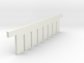 COMB in White Natural Versatile Plastic
