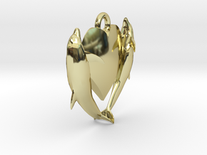 Delphine Earring Very Small in 18K Gold Plated