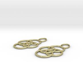 Earrings in 18K Gold Plated