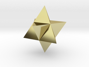 Star Tetrahedron (Merkaba) in 18K Gold Plated