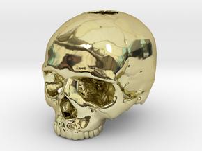 Skull in 18K Gold Plated