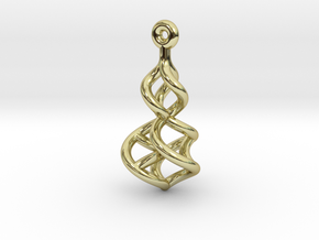 TTS earring 2 in 18K Gold Plated