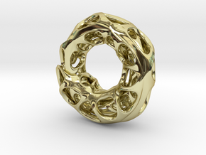 Ouroboros Pendant (S) in 18K Gold Plated