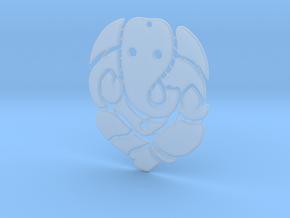 Ganesh ji (Pandent) in Smooth Fine Detail Plastic