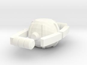 Deluxe Matrix of Leadership in White Processed Versatile Plastic