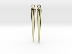spike earrings in 18K Gold Plated